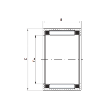 HK5524 ISO Cylindrical Roller Bearings